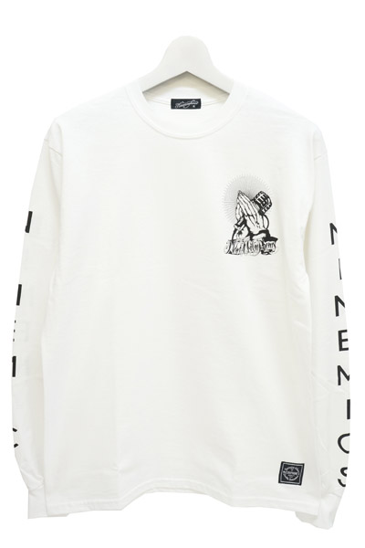 NineMicrophones (ナインマイクロフォンズ) Play with the microphone L/S WHITE