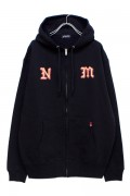 NineMicrophones ZIP PARKA-Way of Life- BLACK