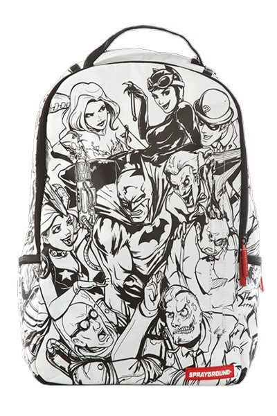 SPRAY GROUND BATMAN VILLAINS DIY BACKPACK