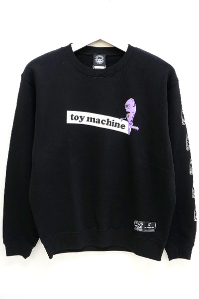 TOY MACHINE TMP18SWT17 tm sect cn BLACK