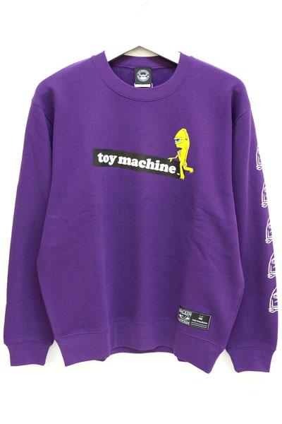 TOY MACHINE TMP18SWT17 tm sect cn PURPLE