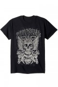 BABYMETAL CROSSBONE EYE SKELETON MENS SOFT TEE