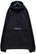 Subciety (サブサエティ) NYLON ANORAK JKT BLACK