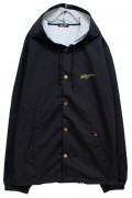 NineMicrophones COACH JACKET-PROMOTION- BLACK