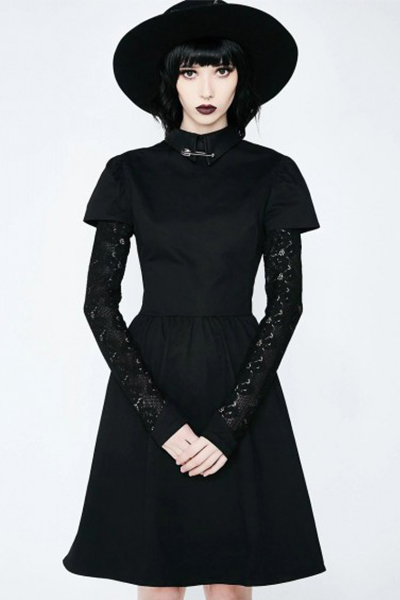 DISTURBIA CLOTHING COVENANT DRESS