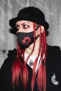 ガリュウホンポ  金魚マスク RED