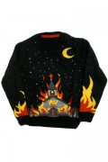 KILL STAR CLOTHING CHURCH KNIT SWEATER [B]