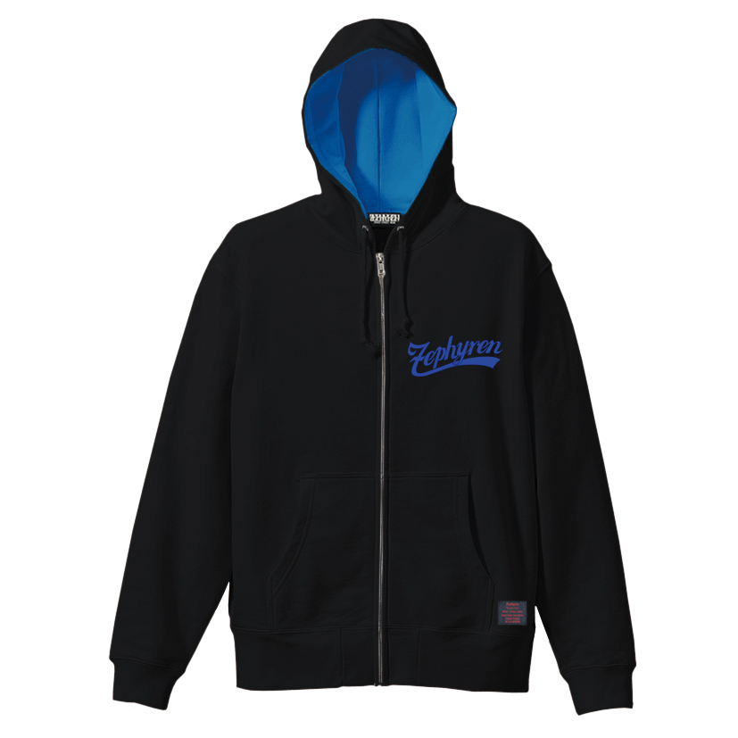 【予約商品】Zephyren(ゼファレン)ZIP PARKA - BEYOND - BLACK / BLUE