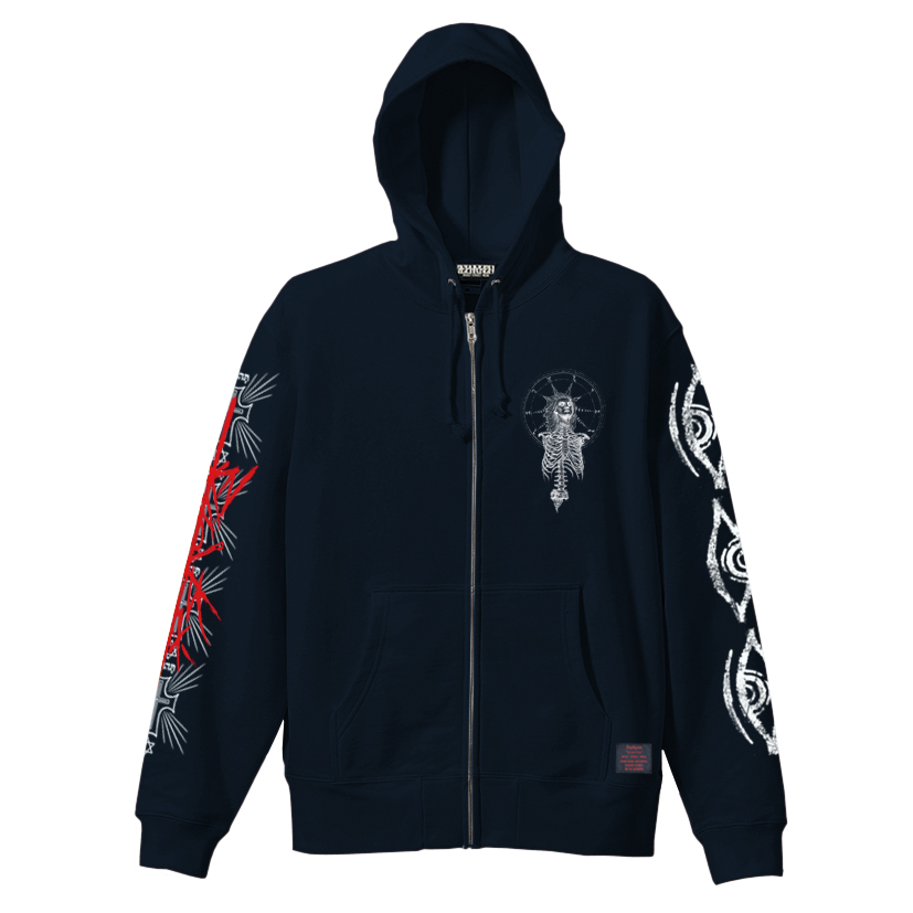 【予約商品】Zephyren(ゼファレン)ZIP PARKA - As above,So below - NAVY