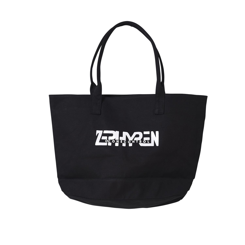 【予約商品】Zephyren(ゼファレン)Tote Bag BLACK