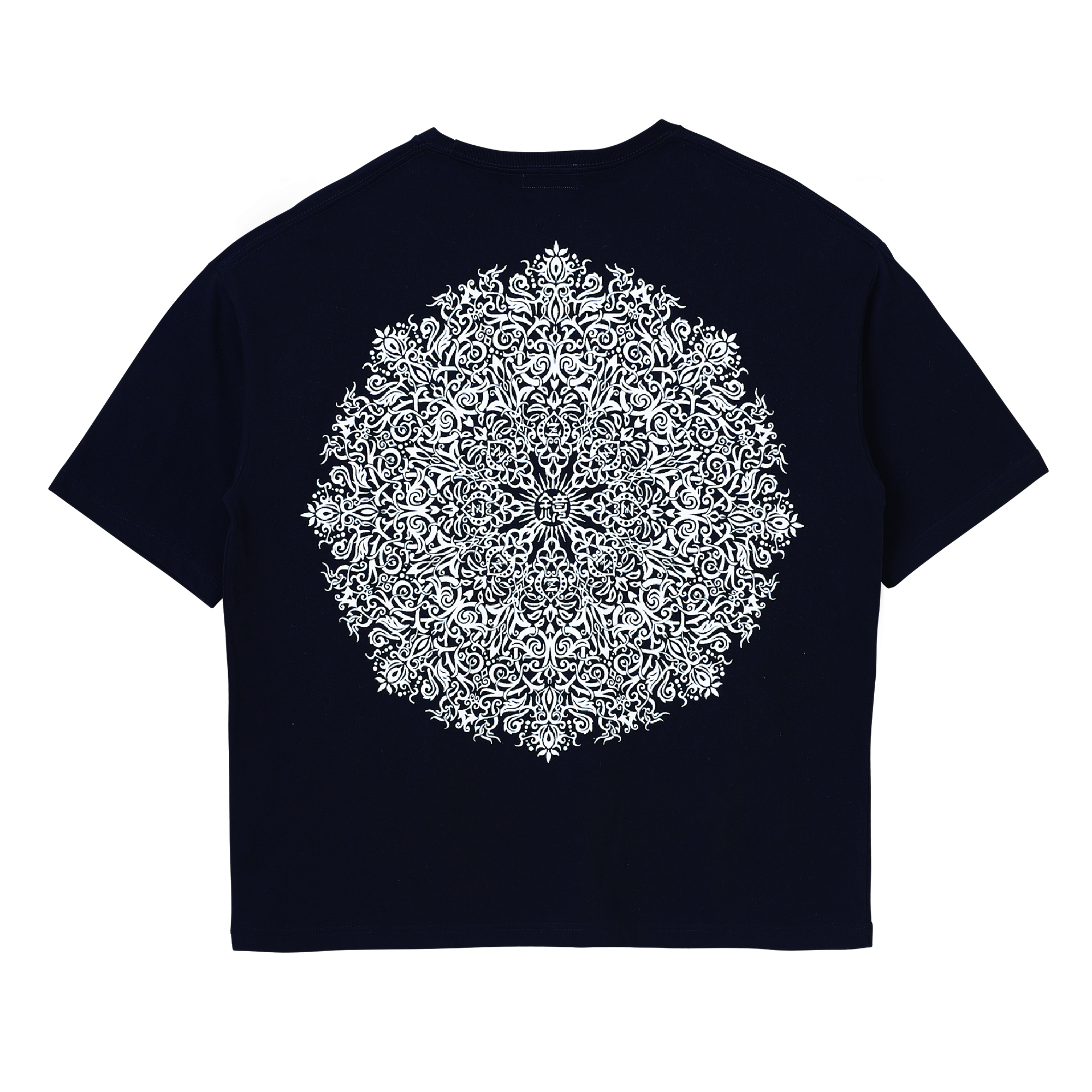 Zephyren(ゼファレン)BIG TEE - VISIONARY / Kaleidoscope - BLACK