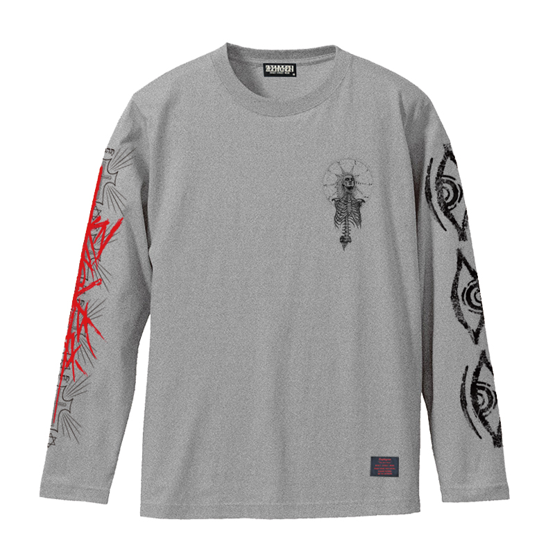 【予約商品】Zephyren(ゼファレン)L/S TEE - As above,So below - GRAY