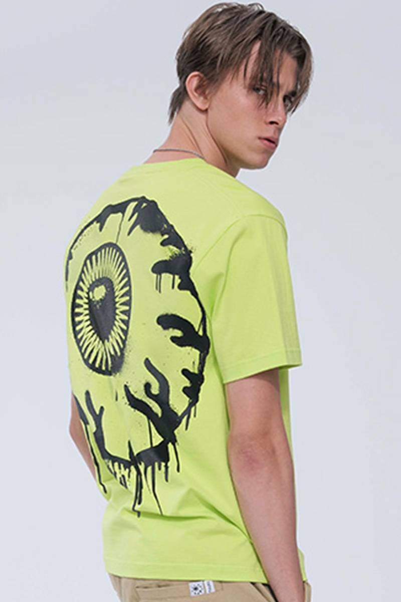 MISHKA MSS200034 T-SHIRTS SAFTY GREEN