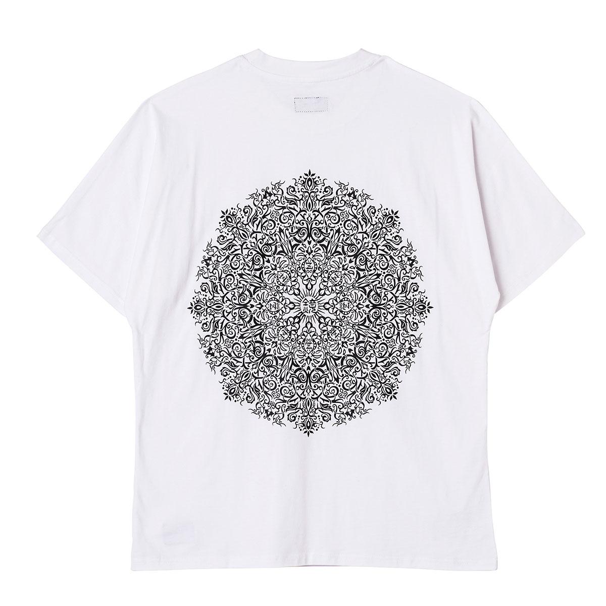 【予約商品】Zephyren(ゼファレン) DOLMAN BIG TEE S/S WHITE / Kaleidoscope