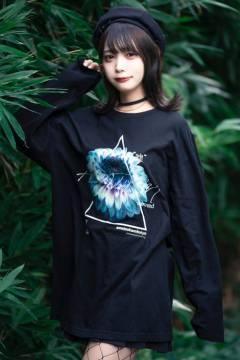 【予約商品】アマツカミ 嘘花 liar flower L/S T-shirts