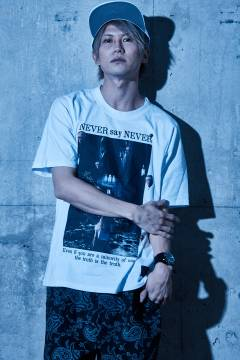 Zephyren(ゼファレン) DOLMAN BIG TEE S/S WHITE / NEVER say NEVER