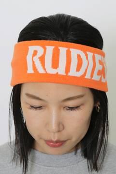 RUDIE'S SLICK HAIRBAND NEON ORANGE