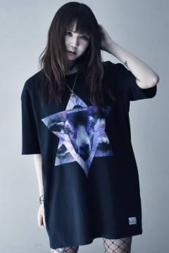 アマツカミ Goat Hexagram  T-Shirt Black