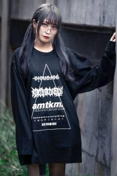 【予約商品】アマツカミ △ triangle L/S T-shirts