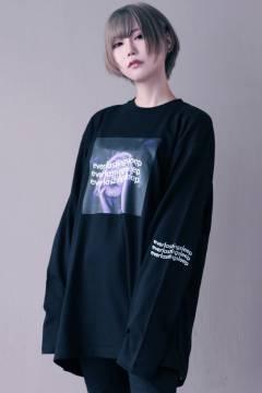 アマツカミ 「永眠」Long T-shirts White