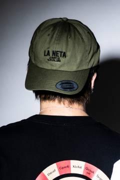 GoneR -La Neta- GRL02CP001 Logo Cotton Twill Cap Olive