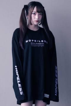 アマツカミ 「絶望感」Long T-shirts Purple