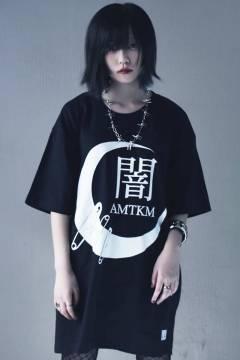 アマツカミ 月闇針 T-Shirt Black