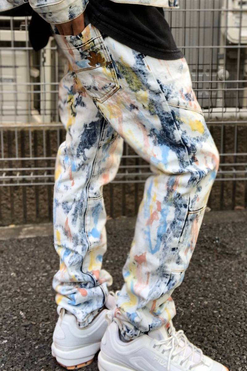 DOPE FEATHER TYE DIE DENIM