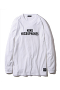NineMicrophones PROMOTION L/S WHITE