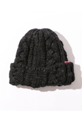 NineMicrophones KNIT CAP BLACK