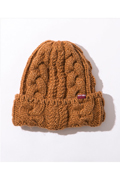 NineMicrophones KNIT CAP BROWN