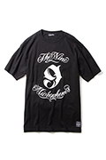 NineMicrophones NEW MC CREW  S/S BLACK