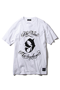 NineMicrophones NEW MC CREW  S/S WHITE
