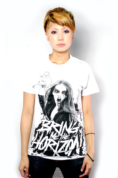 BRING ME THE HORIZON BLACK METAL T-shirt