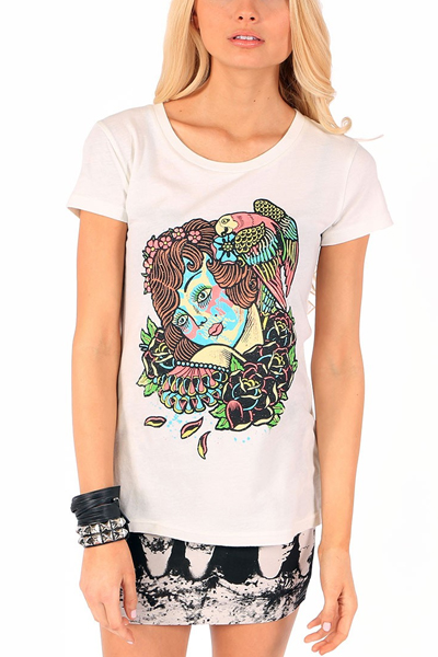 IRON FIST CLOTHING Tropic Love SS Tee