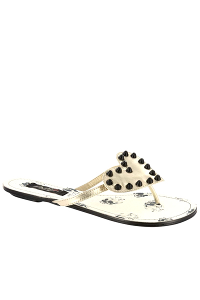 IRON FIST CLOTHING Distant Memory Flat Sandal