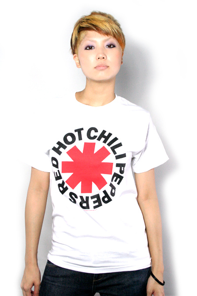 RED HOT CHILI PEPPERS Asterisk Logo White