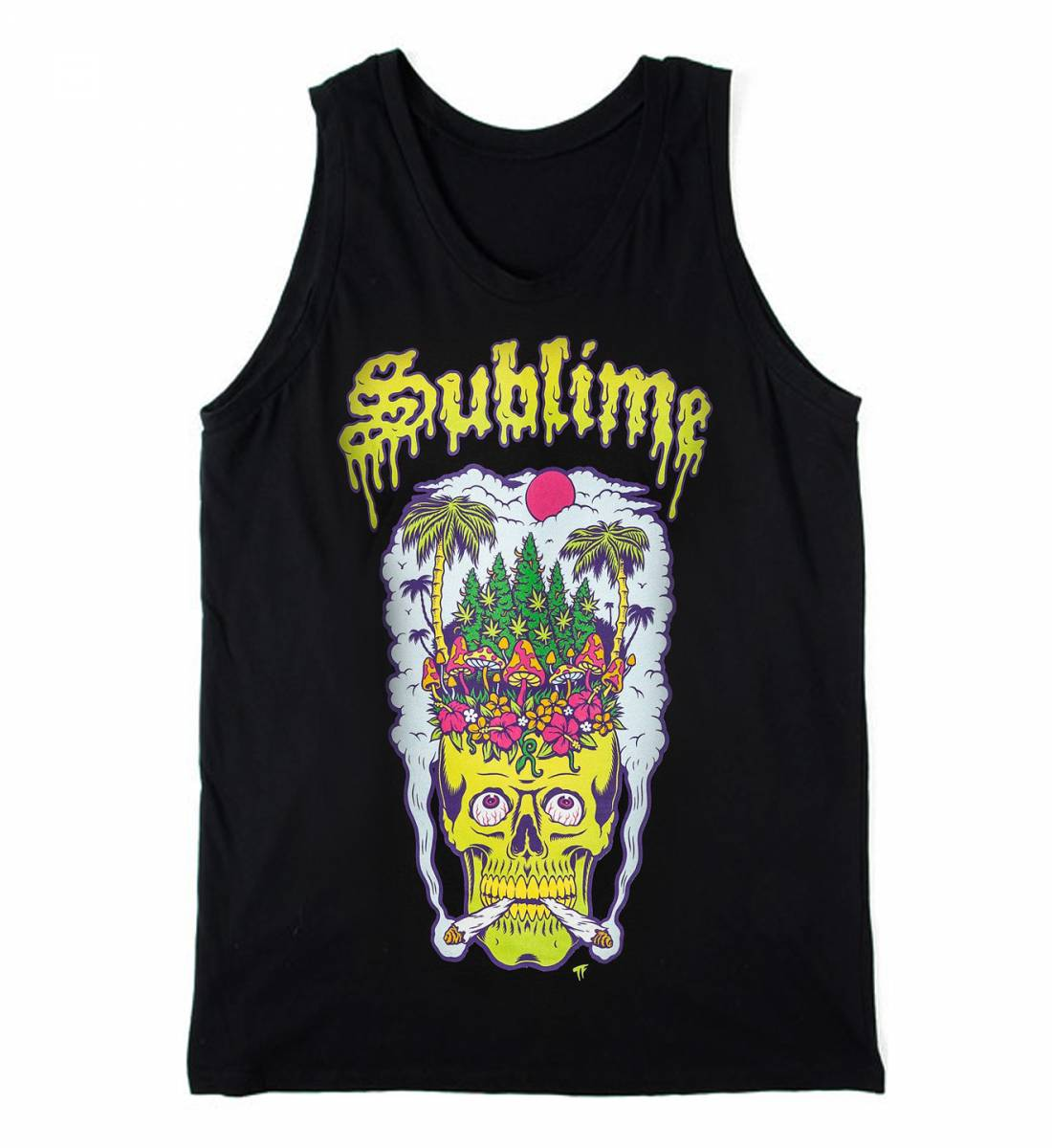 SUBLIME×SULLEN HEAD HIGH STANDARD TANKTOP