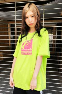 MISHKA(ミシカ) MSS200031 T-SHIRTS Safety Green