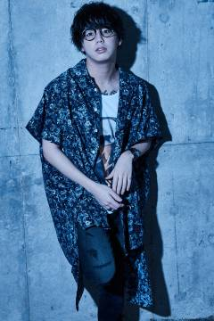 Zephyren(ゼファレン) LONG SHIRT S/S - Resolve - PAISLEY