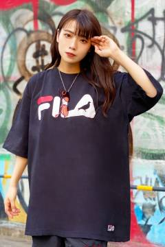 FILA × STAPLE FM9889 T-SHIRTS BLACK