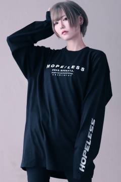 アマツカミ 「絶望感」Long T-shirts White