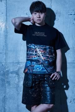【予約商品】Zephyren(ゼファレン) BIG PHOTO TEE - Decadence - BLACK