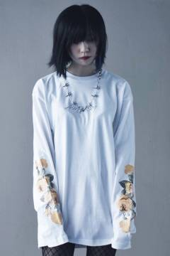 アマツカミ 花  L/S WHITE