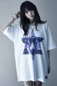 アマツカミ Goat Hexagram  T-Shirt White