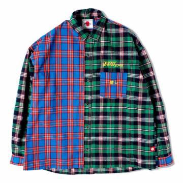 PUNK DRUNKERS オタネルシャツ - GREEN