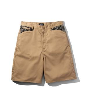 Subciety WORK SHORTS-WORKER- BEIGE
