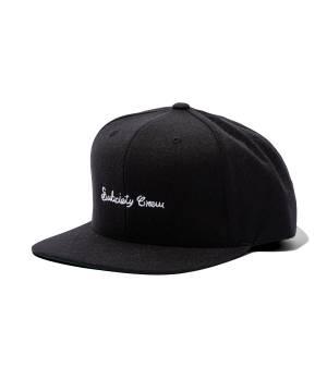 【予約商品】Subciety SNAP BACK CAP-crew- BLACK/WHITE