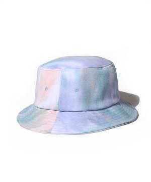 【予約商品】Subciety TIE-DYE BUCKET HAT - SKY BLUE