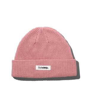 Subciety LOW WATCH CAP - PINK
